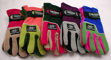 "CHILDRENS GLOVES WEATHER PROOF,THERMAL,INSULATED,RATED ""MINUS 20 BELOW"" TWO-TONE"