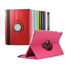 For Apple iPad Air iPad 5 360 Rotating PU Leather Case Smart Cover Stand