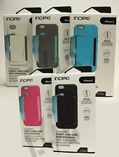 Incipio Stowaway Credit Card ID Wallet Kickstand Hard Case Cover iPhone 6 4.7