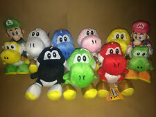 Super Mario Plush Collection - Your Choice of 9 Different Yoshi Plushes - NEW
