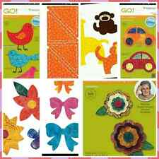 ACCUQUILT GO! Fabric Cutting Die SHAPES FLOWERS BIRDS  Brand New Variety