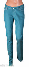 Fenchurch Womens Green Skinny Slim Stretch Fit Jeans Free UK Shipping W 28 L 32