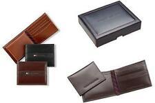 Tommy Hilfiger Men's Ranger Passcase Wallet  BLACK OR BROWN NEW IN BOX NWT