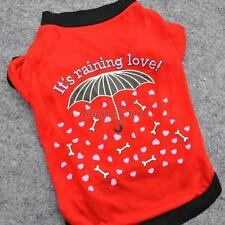 Pet Dog Clothes Umbrella Pattern Blouse Costume Apparel For Small Puppy Dogs G10