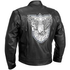 River Road Ride Free Eagle Graphix Leather Jackets