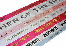 High Quality Personalised Custom Printed Birthday Party Banner - Width 100mm