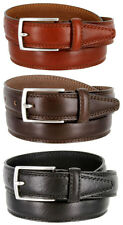 New With Tags K727 Made in Italy Men's Italian Dress Belt 30mm Black Brown Tan