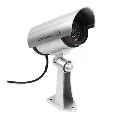 Surveillance CCTV Fake Dummy Outdoor Security Camera System with Flashing Light