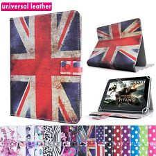 "UNIVERSAL 7"" INCH LEATHER STAND CASE COVER WALLET FOLIO FOR ANDROID TABLET PC"