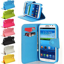 Wallet Flip Case Cover For Samsung Galaxy Note 3/2/1 S5 S4 S3 S2 Mega6.3/5.8