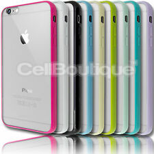 TPU Bumper Hard Back Case for Apple iPhone 4s 5s 5c 6 FREE Screen Protector