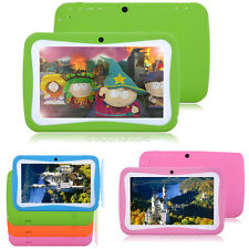 "Multi-Color 7"" Tablet PC Android Capacitive Dual-core Wi-Fi 4GB for Kid Children"