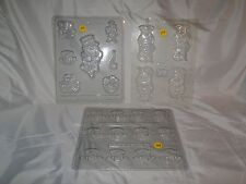 NEW VINTAGE ST PATRICKS DAY LEPRECHAUNS VARIETY CANDY MOLDS, YOU PICK FROM 3