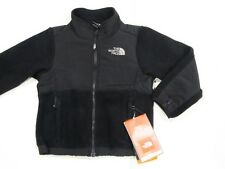 New w tag Big Girls The North Face Black Denali Polartec Fleece Jacket S M L XL