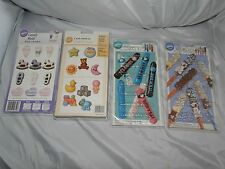 NEW WILTON VINTAGE BABY SHOWER CANDY MOLDS, U PIC FROM 4 KINDS