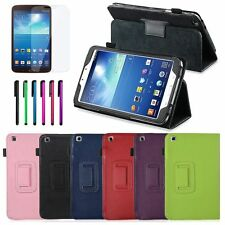 """For Samsung Galaxy Tab 3 T310 8.0"""" 8-inch Tablet Leather Stand Smart Case Cover"""