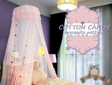Princess Mosquito Net Canopy Bites Protect Fits Crib Twin Full Queen Bed Size