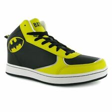 DC Comics Character Mens Hi Top High Tops Casual Sport Trainers Ankle Shoes