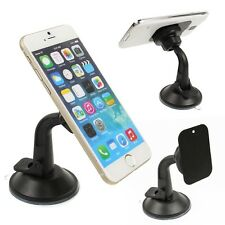Suction Cup Magnetic Car Dash Windshield Mount Holder Stand for Cell Phone GPS