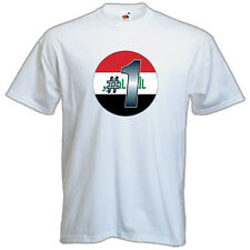 Brand NEW Printed T-SHIRT Quality IRAQ Number #1, All Sizes, All Colours