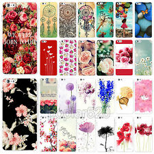 "Hot Pretty Flower Romantic Painted Phone Case Skin For iPhone 6 4.7"" 6 plus 5.5"""