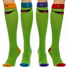 TEENAGE MUTANT NINJA TURTLES Choice of Four Characters Knee-High SOCKS