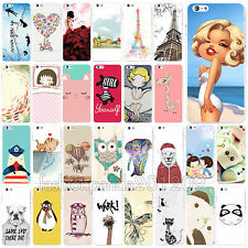 """New Various Cute Animals Design Pattern Phone Case For Phone 6 4.7"""" 6 Plus 5.5"""""""