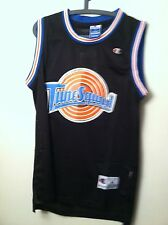 MICHAEL JORDAN #23 SPACE JAM TUNE SQUAD  BASKETBALL JERSEY BLACK S M L XL XXL