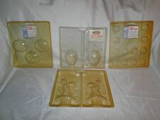 NEW VINTAGE WILTON HALLOWEEN  MISC CANDY MOLDS , VARIETY YOU PICK 4