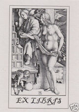EX LIBRIS BOOKPLATE The Temptation of the Idler