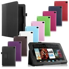 Folio Leather Stand Case Cover Skin For 2014 Amazon Kindle Fire HD 6 7 Tablet PC