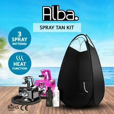 Alba. Spray Tan Machine Professional Sunless HVLP Tanning Gun Solution