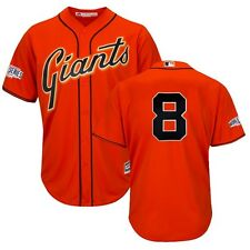 Hunter Pence 2014 SF Giants World Series Alt Orange Cool Base Jersey Men's