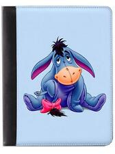 Eeyore Leather Wallet/Flip Phone Case Cover for iPhone Samsung Card slots iPad
