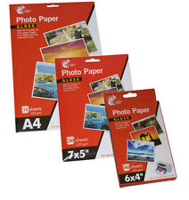 HIGH QUALITY GLOSS PHOTO PAPER A4, 7X5, 6X4 DIGITAL GLOSSY INKJET PRINTER 235GSM