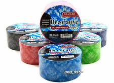 PACKING TAPE - Many colors! Colorful Demask Paisley Decorative Crafting and Art