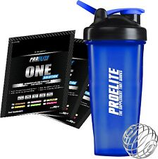 Pro Elite One Solution (All In One) 60g Sachet  x 6 Diff Flavours + Free Shaker