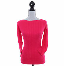 Tommy Hilfiger Women 3/4 Sleeve Boat-Neck Pullover Cable Knit Sweater - $0 Ship