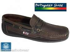 BEPPI PORTUGUESE MADE DECK LOAFERS  SUPERB QUALITY LEATHER BOAT SHOES