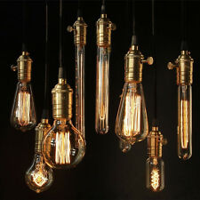 E14/E27/B22 Vintage Antique Edison Style Carbon Retro Filament Bulb Light Lamp