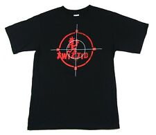 """TWIZTID """"CROSSHAIRS"""" BLACK T-SHIRT NEW OFFICIAL ADULT ICP PSYCHOPATHIC"""