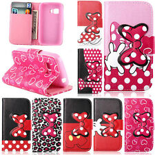 Carey- For Samsung Galaxy Young 2 G130 Flip Wallet Leather Stand Soft Case Cover