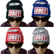 NEW Hip-Hop Supreme OBEY Beanies Cotton Stay warm outdoor knit cap wool Hats