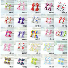 """Lot 20/40/60PCS Hair Clips For 2"""" Mixed Girls Baby Children Bowknot Ribbon Clips"""