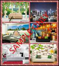 SAMPLES Photo mural wall paper Wall Print Decals Wall Deco Indoor wall painting