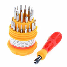 31 in 1 Nonslip Handle Magnetic Bits Electron Screwdriver Set + Plastic Case