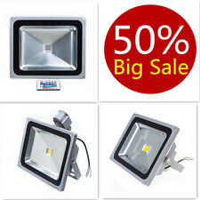 LED FLOODLIGHT 10W/20W/30W/50W CLASSIC/PIR/RGB Garden SECURITY FLOOD LIGHT