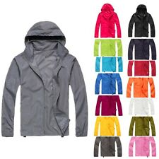 Men Women Jacket Bike Bicycle Outdoor Sports Coat Windproof Waterproof