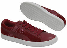 Puma Clyde Survival Red Low Mens Boys Lace Up Brand New Trainers (352130 02) D68