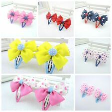 14PCS Cute Children Baby Hair Snap Clips For Girl Hair Accessories BB Clips Lot